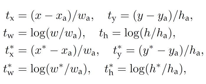 Bounding Box Parameterized
