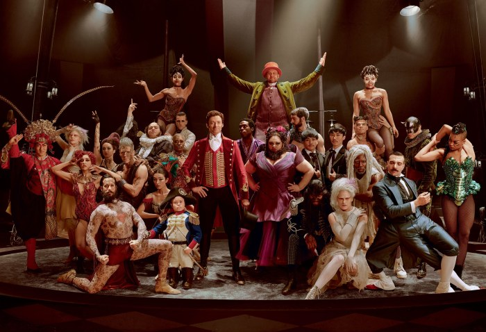 The Greatest Showman Circus Family